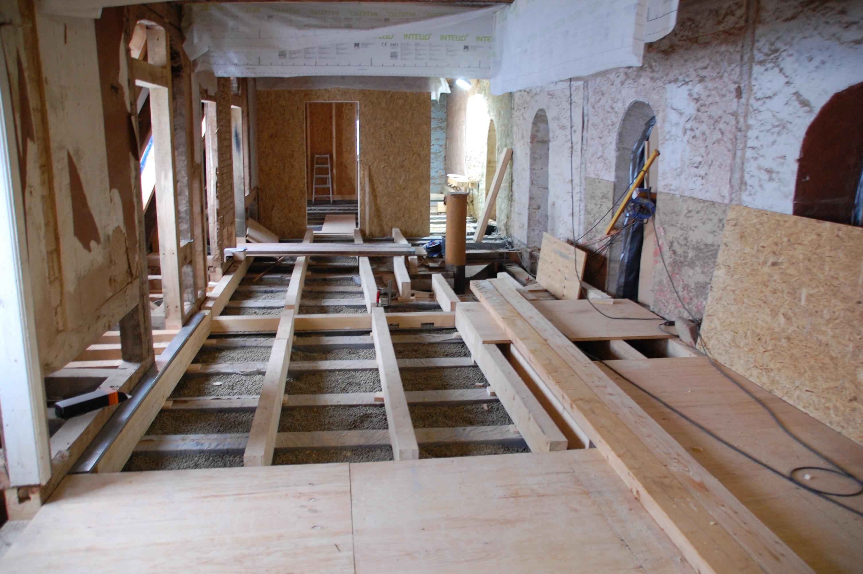 fussboden mansardgeschoss evangelische kirchengemeinde philippsthal. Black Bedroom Furniture Sets. Home Design Ideas